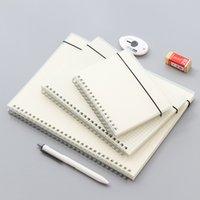 A5 A6 Spiral Yapılacak Kitap Bobin Dizüstü Hattı Nokta Boş Izgara Kağıt Dergisi Günlüğü Sketchbook Okul Ofis Kırtasiye