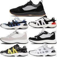 2021 mit Box BEST B25 Schrägsender Läufer Sneaker Männer Plattform Schuhe Designer Schwarz Weiß Wildleder Leder Trainer Mesh Lace-up Freizeitschuhe # 565