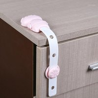 2020 Baby Bear Safety Cabinet Lock Children Protection Kids ...