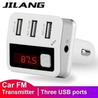 Voiture wifi routeur Jilang FM émetteur modulateur Bluetooth récepteur Bluetooth Mainsfree Wirless Radio Adapter Kit EQ Paramètres Trois ports USB Chargeur1