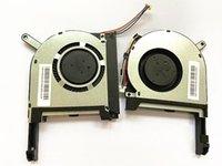 Pads de refroidissement pour ordinateur portable Fan original CPU pour Asus FX705 FX705G FX705GM FX95D FX95G FX86 FX86SM FX505 FX505D FX505DU refroidisseur