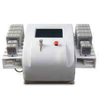 Diodo portatile professionale Lipolaser Lipo LASER LASER LASER LASER Non invasivo 12 Pad 650nm980nm Macchina dimagrante Macchina Attrezzature di bellezza
