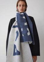 Mode-Studio Hang Tag-Schal mit Designer-Schals für modisch, HIG Eleganter Frauen tragen Luxusschal / Akne-Buchstaben lange warme Schals