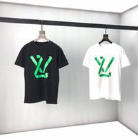 2021 New Mens Women Designers Camisetas Moda Homens Casuais Camisetas Homem Roupas Roupas Estilo Desenhador De Manga Curta Paris Roupas T-shirts 84cc