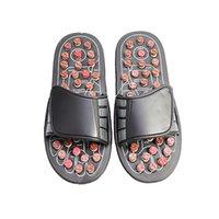 Zapatillas de masaje de pies Terapia de acupuntura Massager Zapatos para el pie Acupoint Activating Reflexology Feet Care Massageader Sandalia