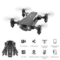 4k HD камеры мини RC Drone дистанционного управления Четыре оси самолеты складной авиабилет дистанционного управления игрушками RC Drone подарки для детей в порядке