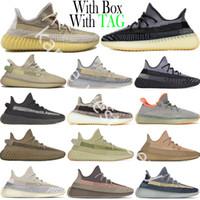 2021 Размер 13 Abez Asriel Israfil Oreo Desert Sage Cinder Tail Light Linen Kanye West V2 Светоотражающие мужские женские кроссовки Кроссовки для тренеров
