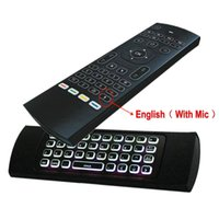 MX3-M-L 백라이트 에어 마우스 유니버설 스마트 음성 원격 제어 2.4G RF 무선 키보드 안드로이드 TV 박스 H96 MAX X96 MINI