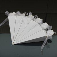 Sorvete Dica Forma Vertebral Caixa de Açúcar Presente Kraft Papel Embalagem Caixa Caixa Branca Venda Quente 0 28zj J1