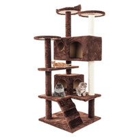 Deluxe 52 inch Cat Tree Condo Furniture Kitten Activity Towe...