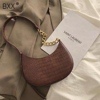 [BXX] Sacs de selle en cuir PU pour femmes 2021 Mode sacs à main et sacs à main Sac à bandoulière à la chaîne de printemps féminine 8A132