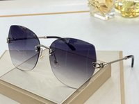 Novo estilo clássico sem aro dos óculos de sol Mulheres Fahsion Polarizada óculos Feminino UV400 Tendência Gradiente Eyewear Lentes De Sol Mujer
