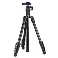 Tripods PROFISSIONA PROFESSIONAL Liga de Alumínio Liga de Alumínio Triphod Monopod Carrinho com Cabeça de Bola para Canon Nikon Sony DSLR Camera