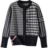 Herbst / Winter 2021 Damen Pullover Hohe Qualität Marke Designer Pullover Weibliche Herbst und Winter Außenbekleidung Strickjacken Strickpullover