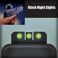 Viste notturne all'aperto Set anteriore e posteriore per G17, G19, G22, G23, G26, G27, G23, G26, G27, G33, G34, G35, G37, G34, G35, G37, G38, G39