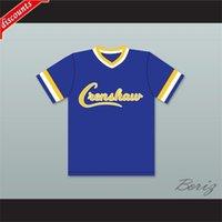 Venta al por mayor Darryl Strawberry 18 CRENSHAW High School Pums Beetball Jersey Beetball Mens Jerseys Steins Camisetas Tamaño S-XXXL Envío Gratis