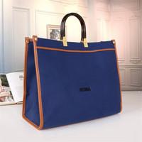 Bolso de compras de gran capacidad de alta calidad Mujeres bolsos de mano bolsos de hombro diseñador bolsos de hombro casual Lady Fashion Handbag