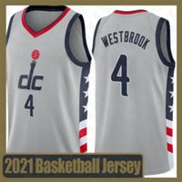 Russell Westbrook Washington.Zauberer2020 2021 New Basketball Jersey Joel Embiid Ben Simmons Kawhi Jayson Tatum Leonard Durant