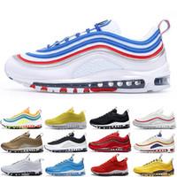 أعلى جودة 97 أسود رصاصة شون whandhpoon رجل إمرأة الاحذية الركض المشي المشي وسادة 97s og الرجال أحذية رياضية في outdoor chaussures
