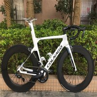 R7010 R8010 Groupset 88mm BOB KARBON tekerlek seti ile 2020 Beyaz Colnago KAVRAMI Karbon Komple Yol Bisikleti bisiklet