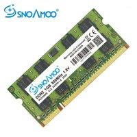 RAMS SNOAMOO DDR2 1GB 2GB 667 ميجا هرتز الكمبيوتر المحمول PC2-5300S 800MHZ PC2-6400S 200pin CL5 CL6 1.8V 2RX8 SO-DIMM