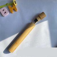 Tenedor de cepillo de cepillo de cepillo de bambú Tubo de bambú Caja de recipiente Accesorios de baño Travel Travel Suministros de hoteles Portátil al aire libre Nuevo 5 2XL C2