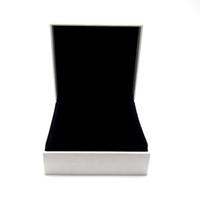 الأبيض ورقة التفاف مربع صالح لعموم سحر الخرزة قلادة أقراط حلقة سوار الإسورة قلادة مجوهرات عرض التعبئة والتغليف