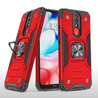 Neue Art für Motorola MOTO G9 PLAY G9 PLUS G Fusion E6S Fall Handy-Zubehör Halterung Rüstung 2in1 TPU PC-Telefon-Kasten