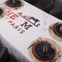 الأزياء الفضالى طاولة الشاي مكتب تلفزيون خزانة غطاء الإفطار طاولة الطعام جولة الجدول القماش جديد الديكور كبار مصممي مفرش المائدة