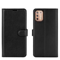 Skórzana obudowa portfela do Moto G9 Power G 5G Plus Flip Cover for Moto One Fusion G8 E6 Plus G Stylus Power Przypadki