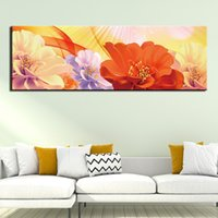 1 Panel Modern Photo Abstract Flower Picture Canvas Painting Wall Art For Living Room Home Decor HD Prints Poster