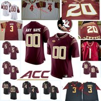 Florida State Seminoles Jersey Cam Akers Charlie Ward Warric...