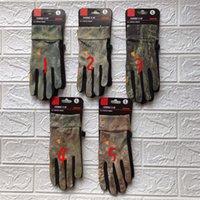 Kamuflaż Męskie Rękawiczki 3D Drukowane Ekran Dotykowy Rękawiczki Zimowe Rękawiczki Fleece Luxurys Mężczyźni antypoślizgowe Telefingers Rękawice Jazda Ciepła Rękawica Boże Narodzenie