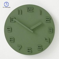 Настенные часы Гостиная Современная минималистская атмосфера Спальня Немой Главная Творческая Личность Ресторан Настенные Часы