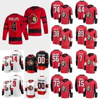 Personalizado Ottawa Senators Abramov Vitaly 85 Anisimov Artem 51 Aspirot Jonathan 76 Batherson Drake 19 Homens Mulheres Juventude
