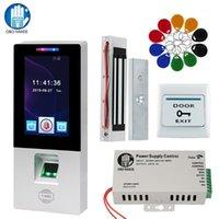 RFID Access Control System Kit Impronta digitale Biometrico Elettrico Magnetico Blocco Bullone Bullone Porta serrature USB Time Frequence Machine1