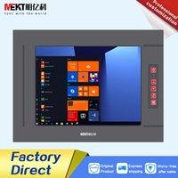 Monitörler Açık 1000CD \ Panel Su Geçirmez IP65 \ 10-35 V Endüstriyel Sınıf 12 \ 12.1 inç Bilgisayar Dokunmatik Ekran Monitör PC Ekran