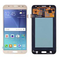 OLED J700F LCD Samsung Galaxy J7 2015 için LCD J700H J700M J700T J700T1 J700K LCD Ekran Dokunmatik Ekran Digitizer Meclisi Toptan Yedek Parçalar