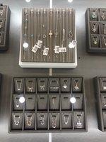 TIFF 925 серебряный кулон ожерелье женское украшения изысканное мастерство классическое синее сердце оптом