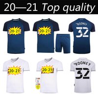 20-21 Jerseys de fútbol del Condado de Derby 20 21 Hombres Camisas de fútbol para hombre Inicio Blanco Alejado Azul Derby Condado Uniformes de fútbol personalizados