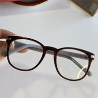 Assiette rétro rond grand cadre lunettes cadre masculine mode de lunettes de lunettes de lunettes de lunettes de lunettes de marque CT02210