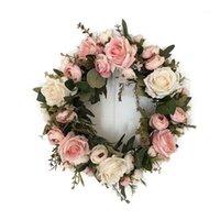 Adeeing Clássico simulação artificial flores de flores para sala de casa jardim lintel decoração1