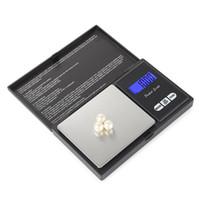 Balança de escala de escala de escala de escala de bolso escalas de prata jóias de diamante de ouro Pese sem bateria escala eletrônica livre transporte rápido KKC5305