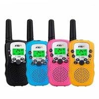 Walkie Talkie 2 шт. / Компл. T-388 Детская игрушка Двухсторонний Радио УВЧ Walkie-Talkie для детей Gift1