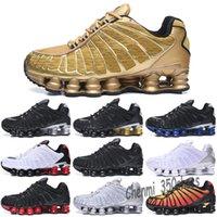 Shox 2020 Consegna originale TL 1308 Mens Athletic Shoes Athletic Shoes R4 WMNS Fornire Oz NZ Men Triple Black White TN Sport Sport Scarpe da esterno 36-46 N53