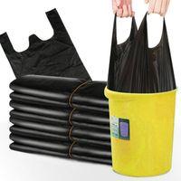 50-200 шт. Одноразовый жилет Тип сгущает мешки для мусора Высокое качество PE мусорное ведро от мусорной мусорной мусорной мусорной сумки для кухонных отходов BIN 201111