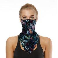Sjaals opknoping oor driehoek sjaal halve gezicht masker Balaclava bandana buitenshuis zonnebrandcrème halsdoek mannen vrouwen