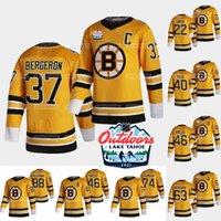 Boston Bruins 2021 all'aperto Domenica Sunday Retro Jersey David Pastrnak Patrice Bergeron Brad Marchand David Krejci Charlie Coyle Mcavoy Smith