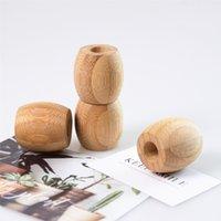 Disponibles Titular de cepillo de dientes Natural Bambú de madera Color de madera Cepillo Soporte Soporte Accesorios de baño Durable 1 95CD E1