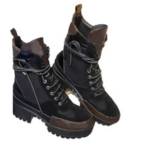 Designer di lusso Stivaletti da donna Booties Stivaletti Boot Moda Moda Donna Autunno Inverno Tacco alto Platform Platform Plat Stivali di alta qualità